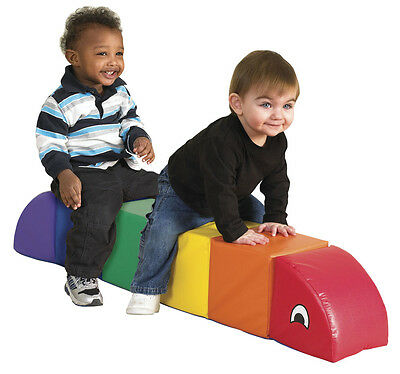 Softzone Sit and Ride LARGE Caterpillar Pro Daycare Soft Vinyl Baby Kids Child