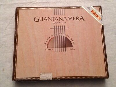 Guatanamera Cristales Cigar Box In Good Condition