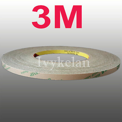 3M 468MP Scotch Double Sided Glue Tape Hi-Temp Resist for Tablet PC Phone Panel