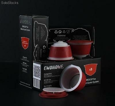 Refillable Reusable Coffee Capsules for Systems Dolce Gusto