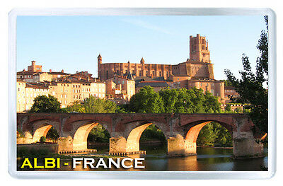 Albi France Fridge Magnet Souvenir Iman Nevera