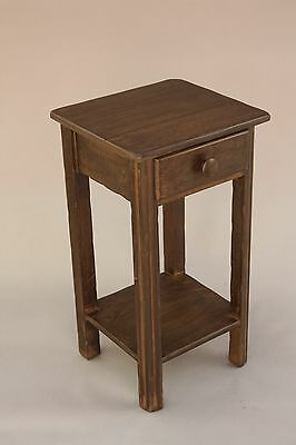 1930's Rancho Monterey / Spanish Revival Night Stand W Pull (8314)