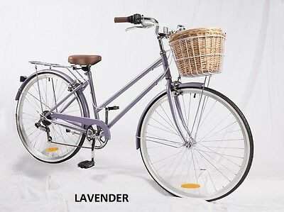 Samson Cycles 7 Speed Lavender Vintage Ladies Bike