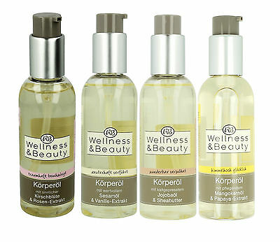 Wellness & Beauty Bath Oil - Different types SPA - 150 ml!