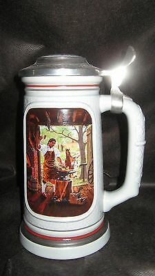Beer Steins Avon Depicting the Blacksmith