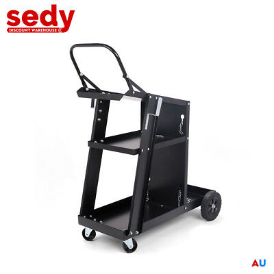 NEW Welding Trolley Welder Cart Storage Bench Mig Tig Arc MMA Plasma Cutter