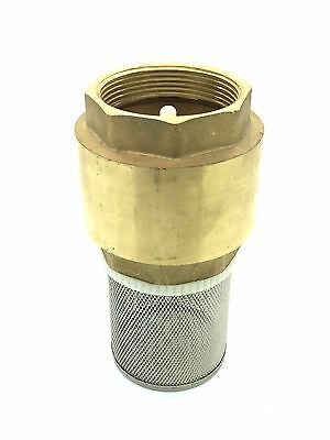"""Brass Spring Check Foot Valves Non-Return 1/2"""" To 4"""" NEXT DAY DELIVERY AVAILABLE"""