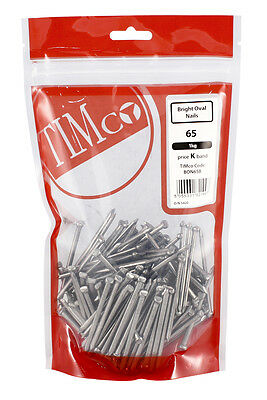 TIMCO BRIGHT OVAL NAILS Nail - Sizes: 40mm , 50mm , 65mm , 75mm , 100mm