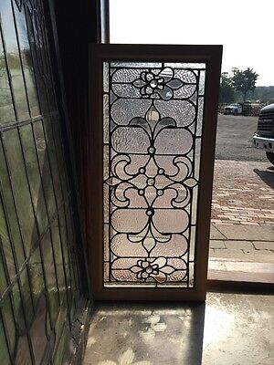 Sg 260 Gorgeous Textured With Jewels Transom Window Antique