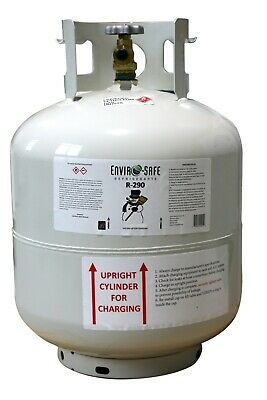 Enviro-Safe R-290 R290 30lb Cylinder containing 12lbs of R290