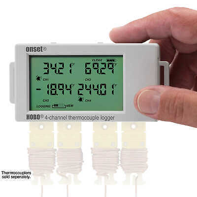 HOBO UX120 Four-Channel Thermocouple Data Logger