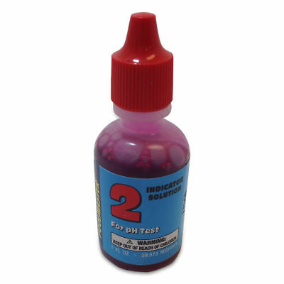 Poolmaster 23262 Phenol Red Indicator Solution #2 - 1 oz