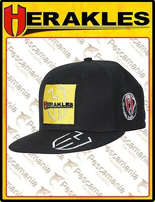 Cappello Colmic Herakles Rap nero logo giallo huge monster bait