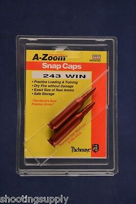 A-Zoom Snap Caps for 243 Winchester Azoom #12223