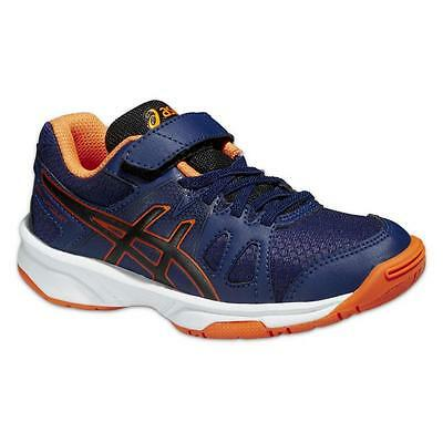 ASICS Indoor Pre-Upcourt PS Kinderschuhe Navy/Black/Orange ***NEU***