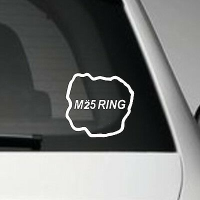 M25 ring race track vinyl car decal sticker jdm vw euro dub