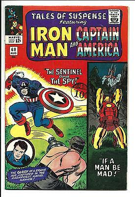 Tales Of Suspense # 68 (Captain America & Iron Man, Aug 1965), Fn/vf