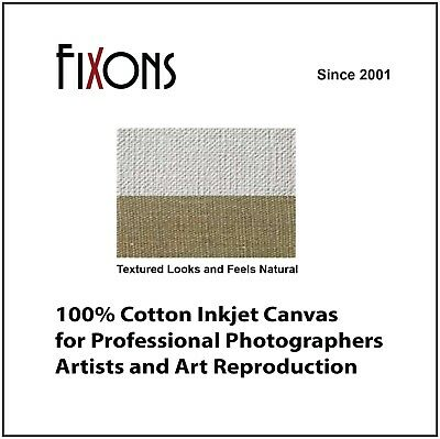 "100% Cotton Inkjet Canvas for Canon - Matte Finish 24"" x 40' - 5 Rolls"