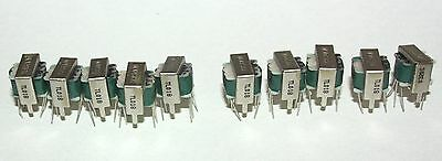10 Xicon 7K - 10K Audio Signal Coupling Transformer TL018 Center Tapped Leads