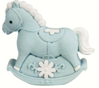 Baby Boy Rocking Horse Money Box Bank Nursery Decor Baby Gift Bomboniere