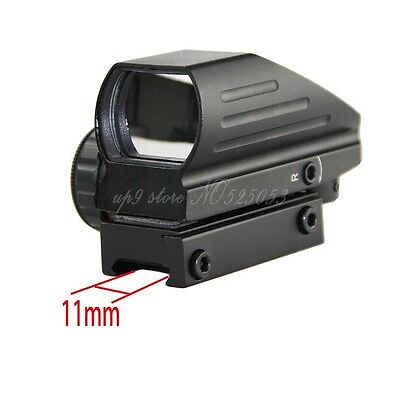 Tactical Hunting Holographic 4 Type Reflex Red Green Dot Sight Scope 11mm Rail