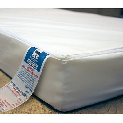 Waterproof Travel Cot Mattress 65 x 95cm Zip Cover 7cm for Graco Mamas & Papas