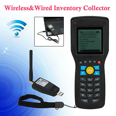 T5 Elite Ver.1D EAN13 wireless barcode scanner data Inventory collector Terminal