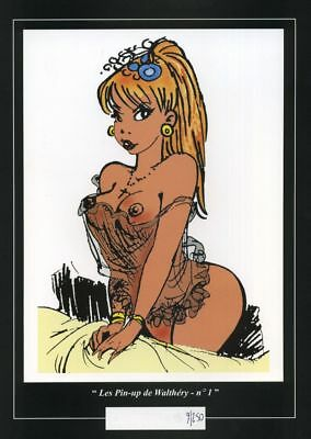 Ex-libris Offset Pin-Up Les Pin-up de Walthéry : n°1