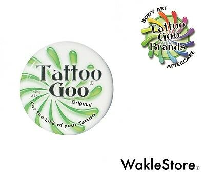 TATTOO GOO AFTERCARE ORIGINAL 1/3oz 9,3g Per TATUAGGI TATTOO Cura del Tatuaggio