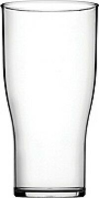 Polycarbonate 20oz Tulip Pint Glasses x 6/12/18/48 Strong & Durable