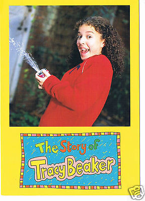 Dani Harmner actress Tracy Beaker Hand signed Photo 6 X 4 Signed  on the back