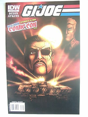 G.i. Joe # 23 (First Print, Re Variant Cover, New York Comic Con, Oct 2010), Nm