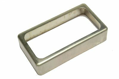 Open Humbucker Pickup Cover - Unplated Nickel Silver