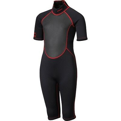 DBX Youth Shorty Spring Neoprene Wetsuit Super Stretch Warm Suit 3/2mm Sz M or L