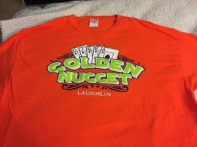 Golden Nugget Laughlin Casino T-shirt XL EUC