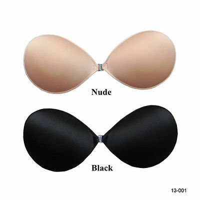 Sexy Silicone Adhesive Stick On Gel Strapless Invisible Bra Backless Cup A B C D