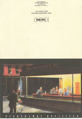 Tintin : Hommage, Nighthawks Revisited - 1000 Editions