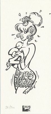 Ex-libris Offset Pin-Up Pin-up comics festival