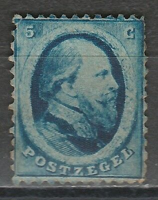 Netherlands 1864 King 5C Only Part Gum