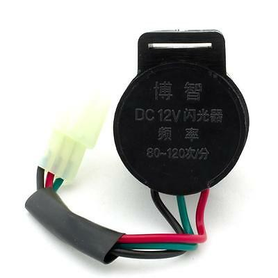 Universal 12V 3 Wire Indicator Relay LED In-line SSR Motorcycle Scooter Pit Bike