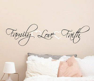 Family Is Everything Wall Sticker Home Quotes Inspirational Love MS332VC