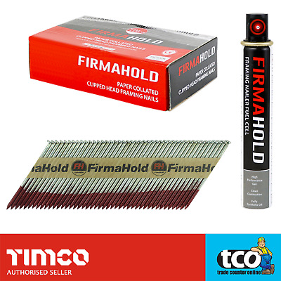 Firmahold 1st Fix Framing Nails 1100 Pack | Fits Paslode IM350