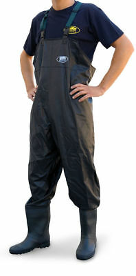 PVC Chest Waders Sizes 6,7,8,9,10,11,12 Lineaeffe Carp Sea Coarse Fly Fishing