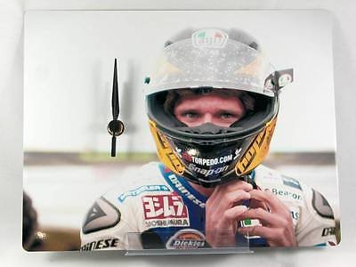 Guy Martin 'Fasten Up' Isle of Man TT 2014 Photo Desk Clock