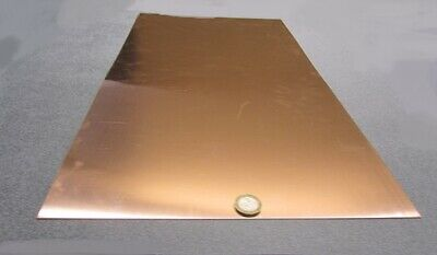 """110 Copper Sheet 1/2 Hard H02  .020"""" Thick x 12.0"""" Wide x 24.0""""  Length"""