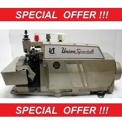 UNION SPECIAL 39500 1-Needle 3-Thread Serger Industrial Sewing Machine Head Only