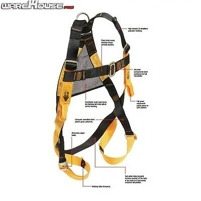 New Beaver B-Safe Roof Safety Harness / AUS JOB SITE APPROVED / BH01120