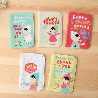 """""""Always Smile"""" 12 Slots Cute ID Name Credit Card Holder Pocket Case Pouch Bag"""