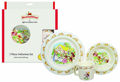 Bunnykins - 3 Piece Melamine Set - Playing