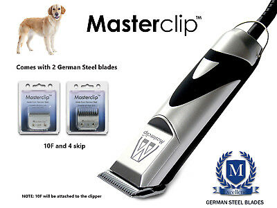 Golden Retriever Dog Clippers Trimmer Set and Blades Professional by Masterclip